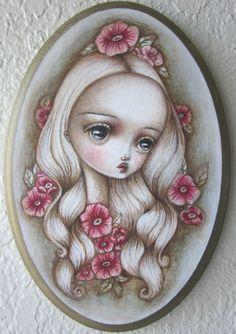 Flora by Lauren Saxton (Fair Rosamund Art).
