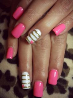 #pinknails #cute #naildesign