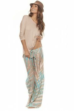 Cute beach pants