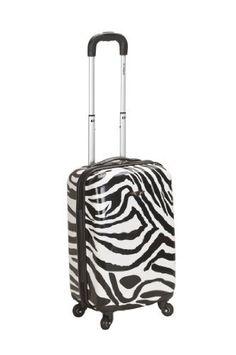 Rockland Luggage 20 Inch Carry On Skin, Zebra, Medium Rockland,http://www.amazon.com/dp/B008LR9T42/ref=cm_sw_r_pi_dp_o7twrbB34E7E4CB4