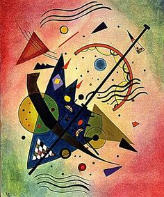 Wassily Kandinsky - Composition, 1910 More