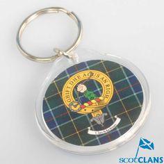 MacIness Clan Crest Keyring