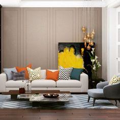 портфолио, Elena Ponomarenko, Living room in Yalta design by Vitta-group studio