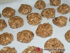 Cookies με κουάκερ φωτογραφία βήματος 2 Recipe Steps, Cookies, Biscuits, Muffin, Healthy Recipes, Healthy Foods, Food And Drink, Sweets, Breakfast
