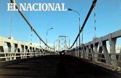 Estado Barinas, Puente sobre el Río Apure. (José Rodríguez / Colección Archivo El Nacional)
