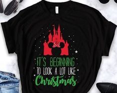 Disney christmas shirts | Etsy
