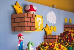 Festa Mario Bros - Foto Graziele Novais