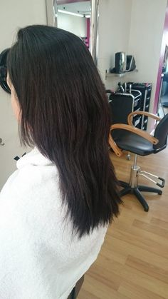 Jo before Micro Ring Weft Extensions