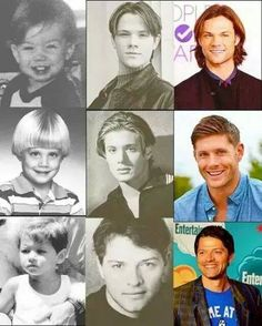 Supernatural cast at young age