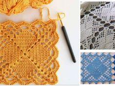 Blusa muy bonita en crochethecha con hilo fino. El punto es abierto que le da un aspecto fresco y ventilado. Ver los moldes para hacer esta hermosa blusa de ganchillo.