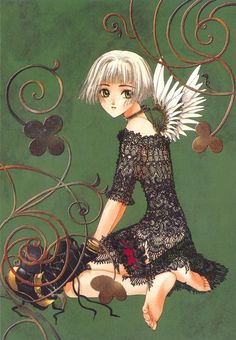Clover - CLAMP  confession - I used to love anime and manga art. I think it shows in my drawings.