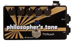 Music Canada Pigtronix Philosopher's Tone Compressor Sustainer & Distortion Guitar Effects Pedals, Guitar Pedals, Distortion, Product Launch, Canada, Music, Free, Musica, Musik