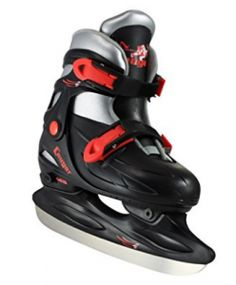 American Athletic Shoe Cougar Adjustable Hockey Skates, Black, Youth: Beginners adjustable hockey skate with hard outer shell for support and easy to fasten buckles with inner lining for warmth and comfort. Adjustable for 4 sizes. Boys Basketball Shorts, Air Hockey, Hockey Gear, Winter Sports, Ice Skating, Boys Shoes, Golf Bags, Athletic Shoes, American