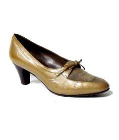 70s vintage 'Nando Muzi' leather shoes