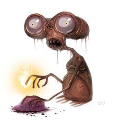 #humor #chistes #fotos #divertidas #risas #gadgets #curiosidades #geek #friki #zombies  DE LOS ZOMBIES DE The Walking Dead NO SE SALVA NI E.T... http://www.yougamebay.com