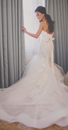 »Stunning gown by Lazaro« #wedding #weddinginspiration #dress