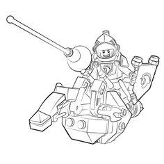 Leuk voor kids – Lego Nexo Knights - ridder Lance