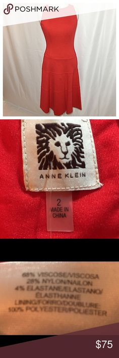 NWT Anne Klein sleeveless dress NWT Anne Klein sleeveless dress. No holes, rips or stains. ❌Smoke and pet free home. ⚡️Same/next day shipping. Save by bundling or make a reasonable offer through the offer button. No trades or modeling. Anne Klein Dresses