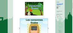 La classe de français: Les consonnes finales. Présentation audio et exercices