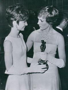 Audrey with Julie Andrews
