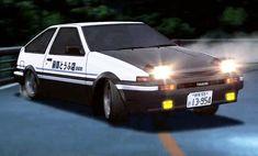 Toyota Sprinter Trueno Initial D Papercraft para armar Corolla Ae86, Toyota Corolla, Toyota Trueno, Toyota Celica, Initial D Car, Nissan 180sx, Japanese Cars, Street Racing, Jdm Cars