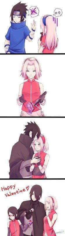 Sasuke and Sakura| SasuSaku | Саске и Сакура