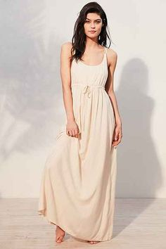 Out From Under Knotted Back Beach Maxi Cover-Up - Urban Outfitters