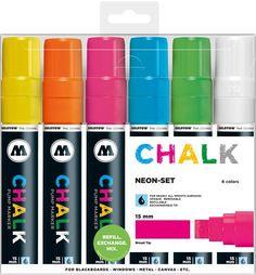Molotow Chalk Pump Marker 15mm Set