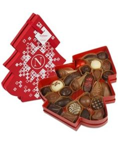 Neuhaus Holiday Belgian Chocolate Christmas Tree Gift Box