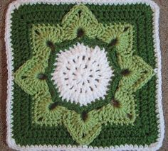 Ravelry: Eight Pointed Flower by Julie Yeager