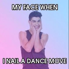 It's so true! My Face When, Dance Quotes, The Next Step, Best Memes, Favorite Tv Shows, It Cast, Hilarious, Lol, Humor
