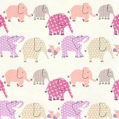 Elephant Fabric for Cushions