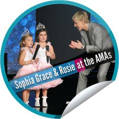 Sophia Grace And Rosie Are AMA Correspondents On Ellen!...These beauty queens sure can talk! Get more Ellen stickers at GetGlue.com