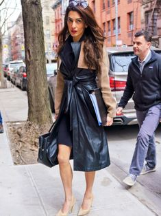 Amal Clooney spotted in New York 27.03.2018 | Amal Clooney Style
