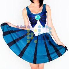 Vestido de licra de #SailorNeptuno #cosplay #SailorMoon #fkb