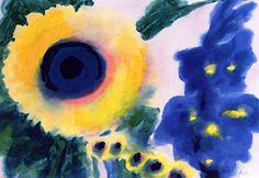 Sunflowers Emile Nolde