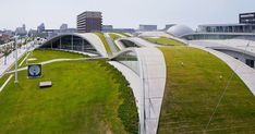 Green roofs are changing architecture: The Science Hills of Komatsu treehugger.com