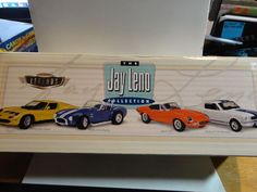 Hot Wheels Legends The Jay Leno Collection (4) Car Boxed Set #HotWheels
