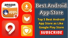 Best Android App Store - Top 5 Best Android App Store as Like Google Play Store https://youtu.be/QUjdRXdvCTs  Best Android App Store List. Play Store alternative app store.  1. ApkMirror 2. Amazon App Store 3. 9Apps 4. GetJar 5. Aptoide  Thank You Watching Top 5 Best Android App Store as Like Google Play Store Videos. Top 5 Best PlayStore Alternatives For All Android.