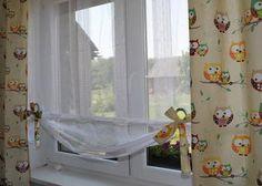 firanka dla dzieci dziewcynki chłopca roleta zasłonki bawełna sowy