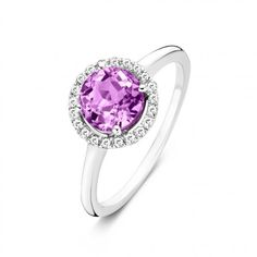 Want to make a statement? Then, this diamond darling is exactly what you're looking for. Give your outfit just that little extra with this trendy sterling silver ring. The sensual Pink Tourmaline semi-precious stone in the middle, surrounded by 21 diamonds, will instantly light up the room. And you.. you'll be a part of all that magic. Absolutely lovely on their own but breath-taking in combination with the Tutti Colori bracelets. Time to shine!  We ship worldwide with the best carriers. For…