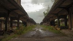 Eerie Abandoned Train Stations