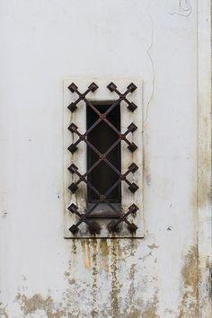 Barred small window