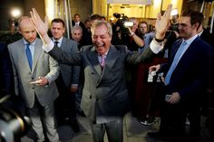 """Memorable quotes of 2016:     Nigel Farage:    The leader of the UK Independence Party after Britain voted to leave European Union, known as Brexit: """"Let June the 23rd go down in our history as our Independence Day."""""""