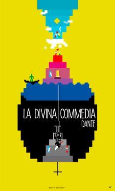E.T. la Divina Commedia e TRON (in bit) - ITinaBIT Serpieri, Book Covers, Illustration, Books, Movie Posters, Livros, Film Poster, Illustrations, Popcorn Posters