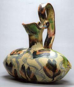 Betty Woodman  Pillow pitcher  earthenware  24.4 x 0 in. / 62 x 0 cm.  1984