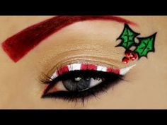 ▶ Candy Cane Christmas Makeup Tutorial - YouTube