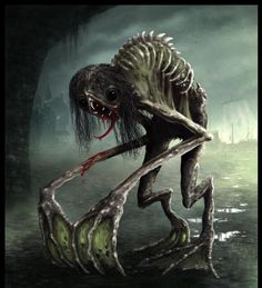 Some type of version of the Rake, the worst Creepypasta that kills other creepypastas and humans