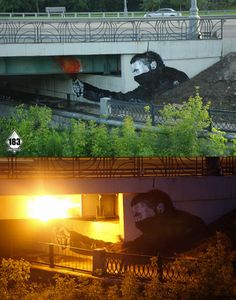 Some really awesome street art...