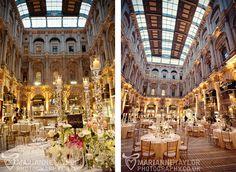 The Royal Exchange, London. Such a fabulous wedding venue